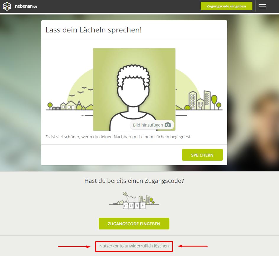 Löschen Idates Profil anybody should